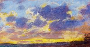Nightfall by Claude Monet